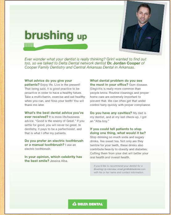 brushing up